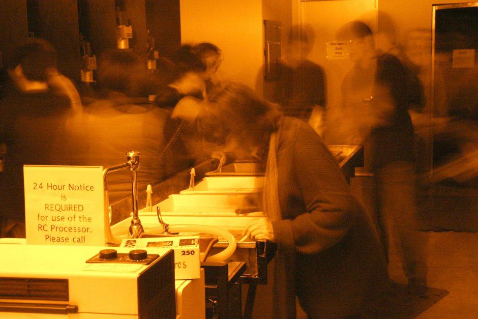 """""""Long Exposure Darkroom"""" by Brian Tobin."""